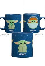 Star Wars Star Wars ( Mug 20 o.z ) The Child Snack/ Attack/ Protect