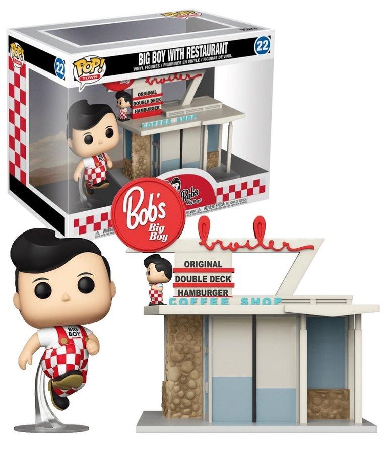 Big Boy with restaurant 22 ( Funko Pop ) Bob's Big Boy