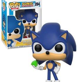 Sonic 284 ( Funko Pop ) Sonic avecEmerald