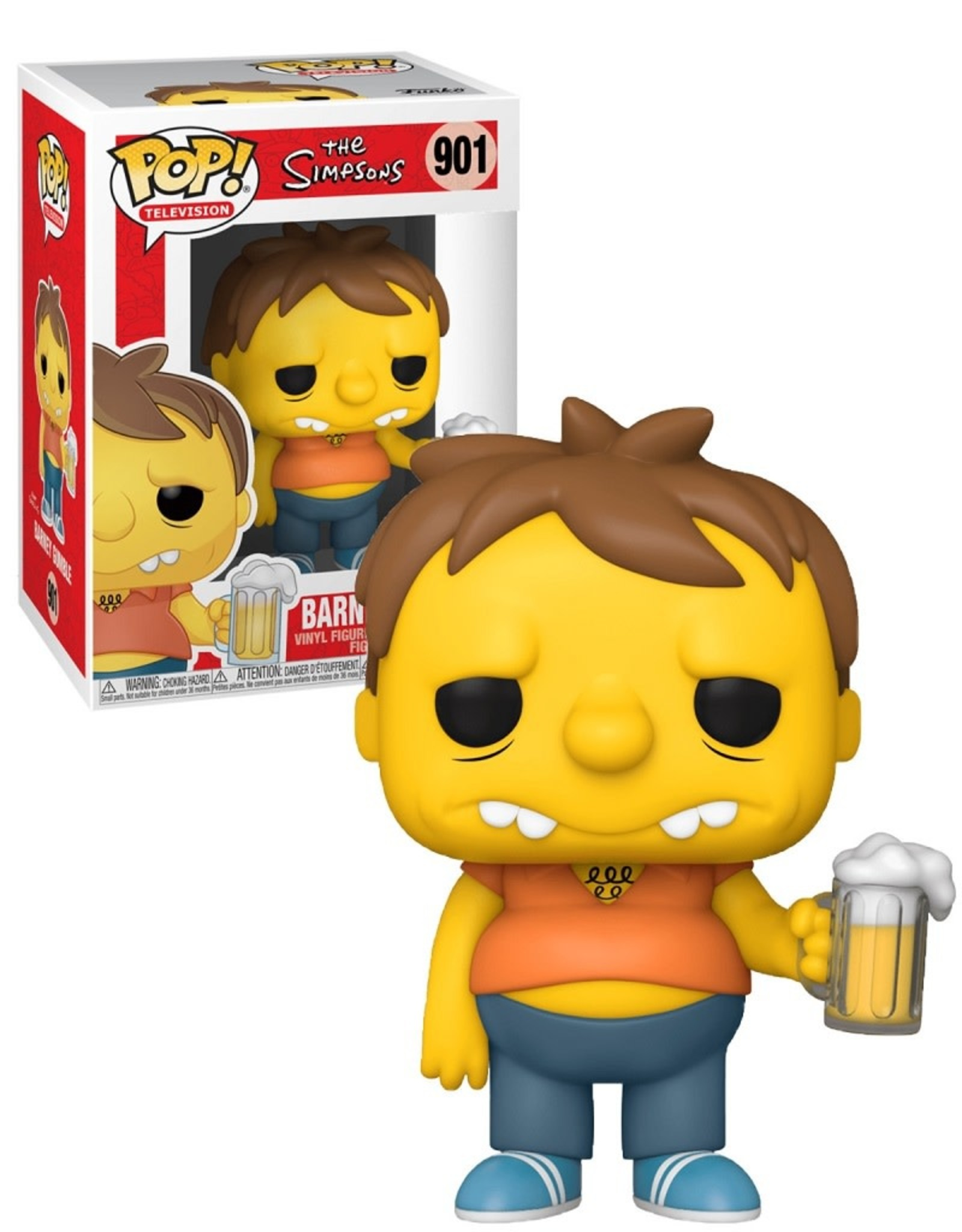 The Simpsons 901 ( Funko Pop ) Barney Gumble