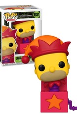 The Simpsons 1031 ( Funko Pop ) Jack-In-The-Box Homer