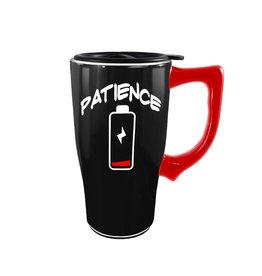 Patience ( Ceramic Travel Mug ) Battery