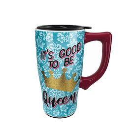 It's Good to be Queen ( Ceramic Travel Mug )