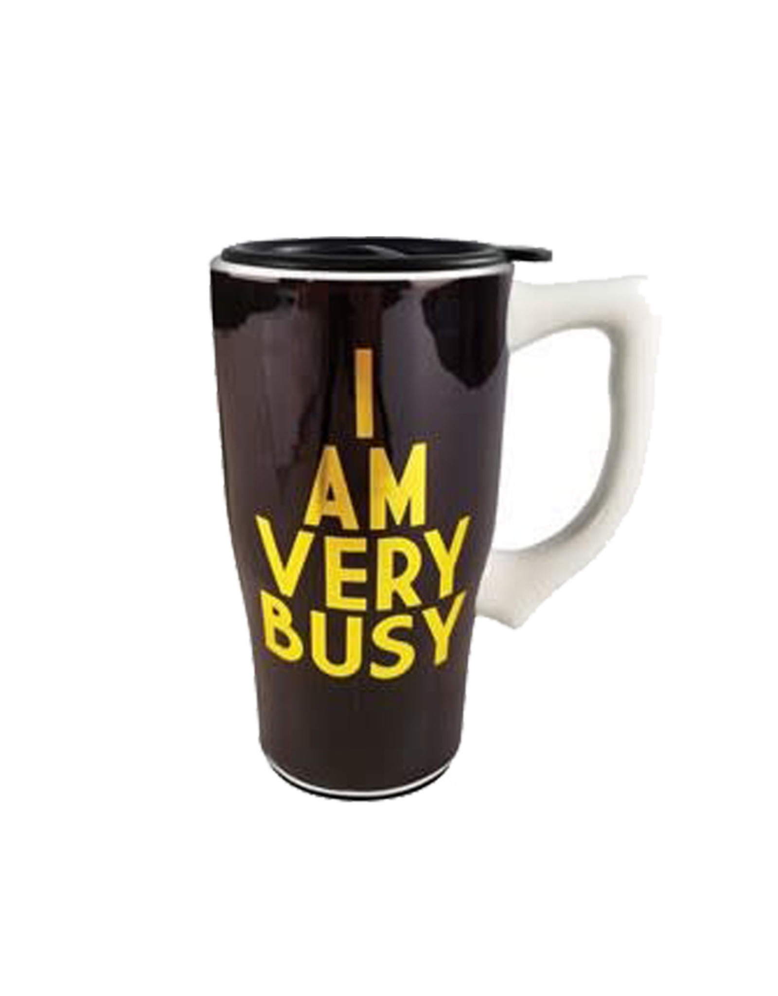 I Am Very Busy ( Ceramic Travel Mug )