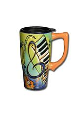 Music ( Ceramic  Travel Mug )