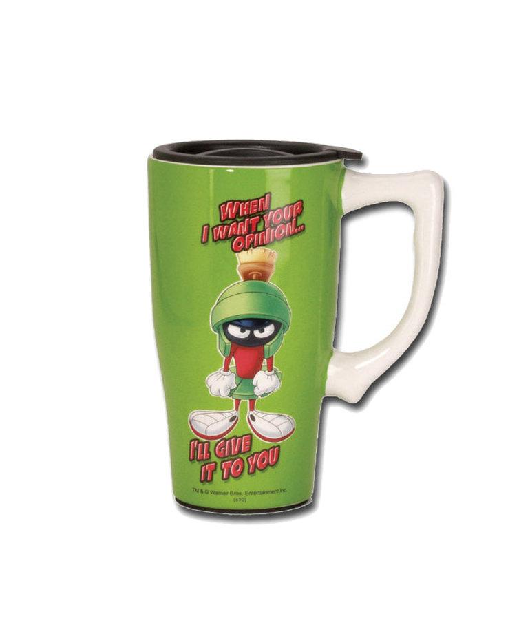 Looney Tunes ( Ceramic Travel Mug ) Marvin