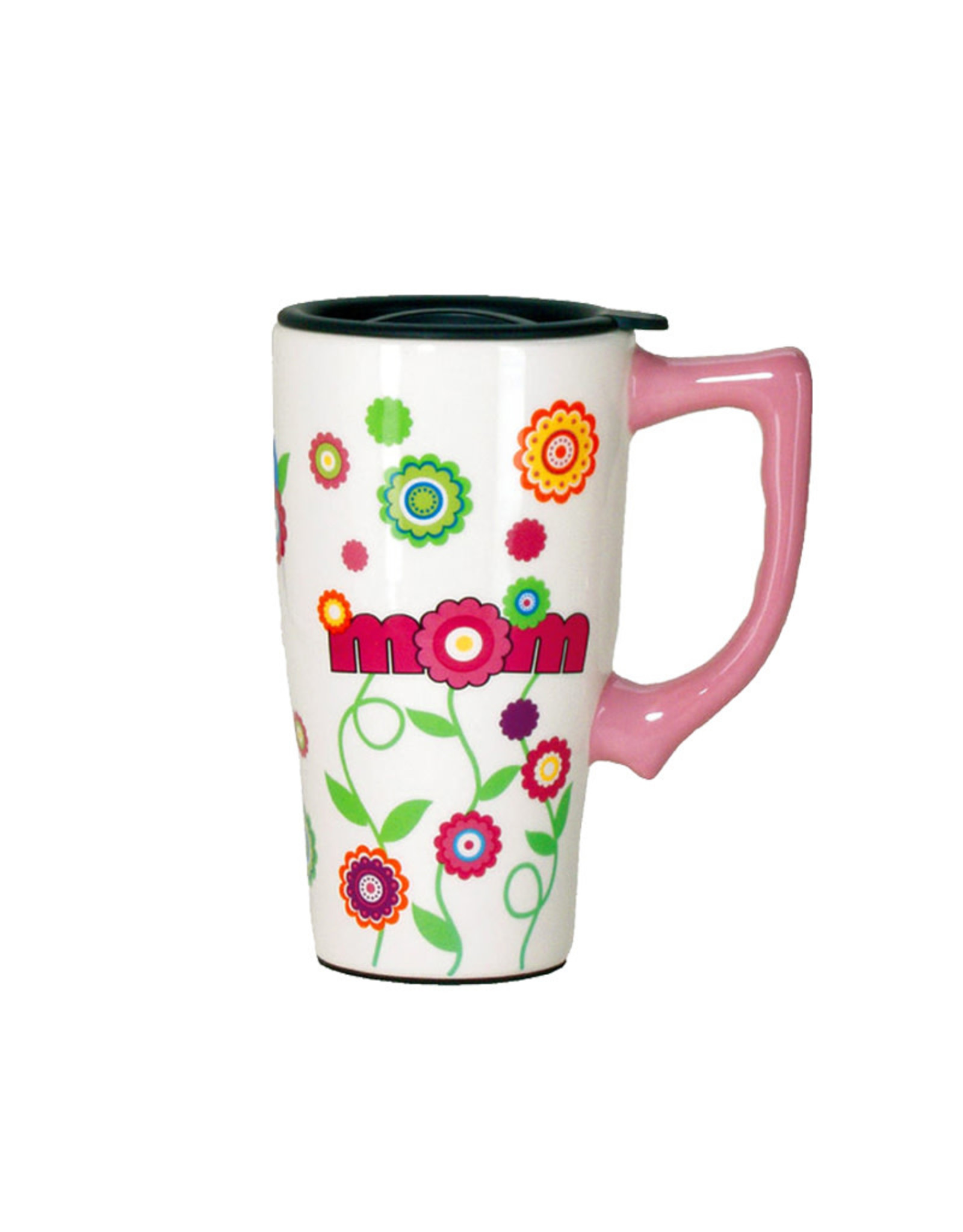 Mom ( Ceramic Travel Mug )
