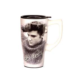 Elvis Elvis ( Ceramic Travel Mug ) Retro