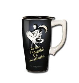 Looney Tunes ( Tasse de Transport en Céamique ) Pépé le Putois