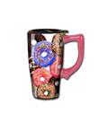 Donuts ( Ceramic Travel Mug )