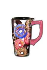 Donuts ( Ceramic Travel Mug )