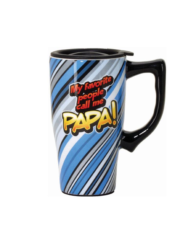 My Favorite People Call Me Papa ( Ceramic Travel Mug )