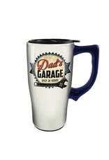 Dad's Garage ( Ceramic Travel Mug )
