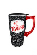 Teacher # 1 ( Ceramic travel Mug )