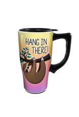 Sloth ( Ceramic Travel Mug ) Hang in There