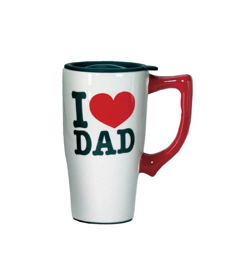 Dc comics I Love Dad ( Ceramic Travel Mug )