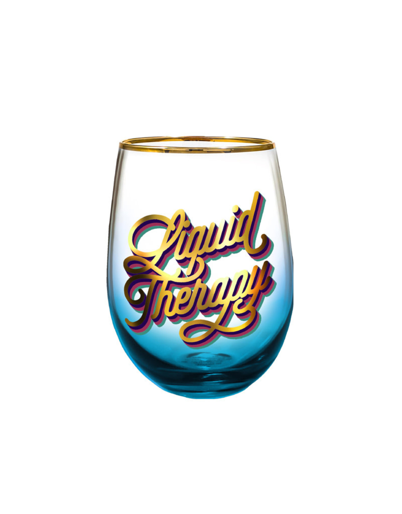 Liquid Therapy ( Wine Glass )