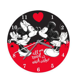 Disney ( Horloge Mickey & Minnie ) All we need is each other