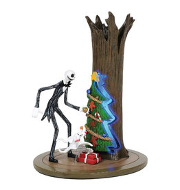 L'étrange Noël de monsieur Jack ( Figurine Illuminée ) Jack  & Zéro