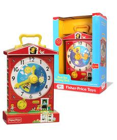 Fisher Price ( Retro Toy ) Teaching Clock