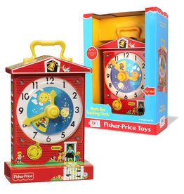 Fisher Price ( Retro Toy ) Teaching Clock