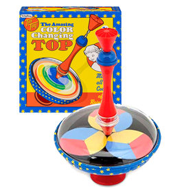 Tin Toy ( Spinning Top ) Color Changing