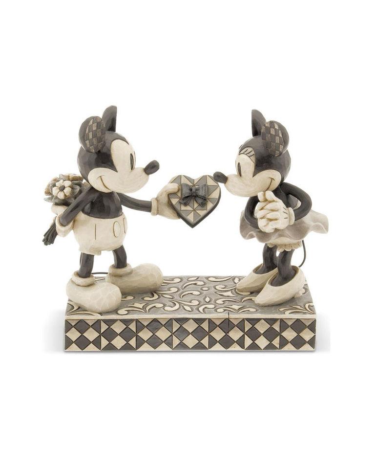 Disney ( Disney Traditions Figurine ) Mickey & Minnie