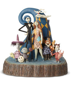 The Nightmare Before Christmas Disney ( Disney Traditions Figurine ) Jack & Friends