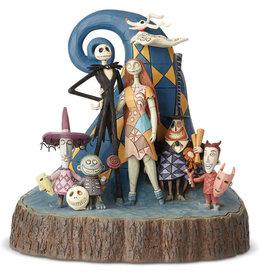The Nightmare Before Christmas Disney ( Figurine Disney Traditions ) Jack & Amis
