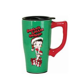 Betty Boop Betty Boop  ( Ceramic Travel Mug ) Christmas