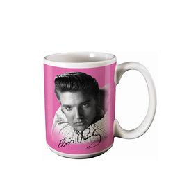 Elvis Elvis Presley ( Tasse en Céramique ) Rose