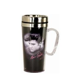 Elvis Elvis Presley ( Stainless Steel and Acrylic Travel Mug )