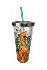 Scooby-Doo ( Shiny Acrylic Glass with Straw )