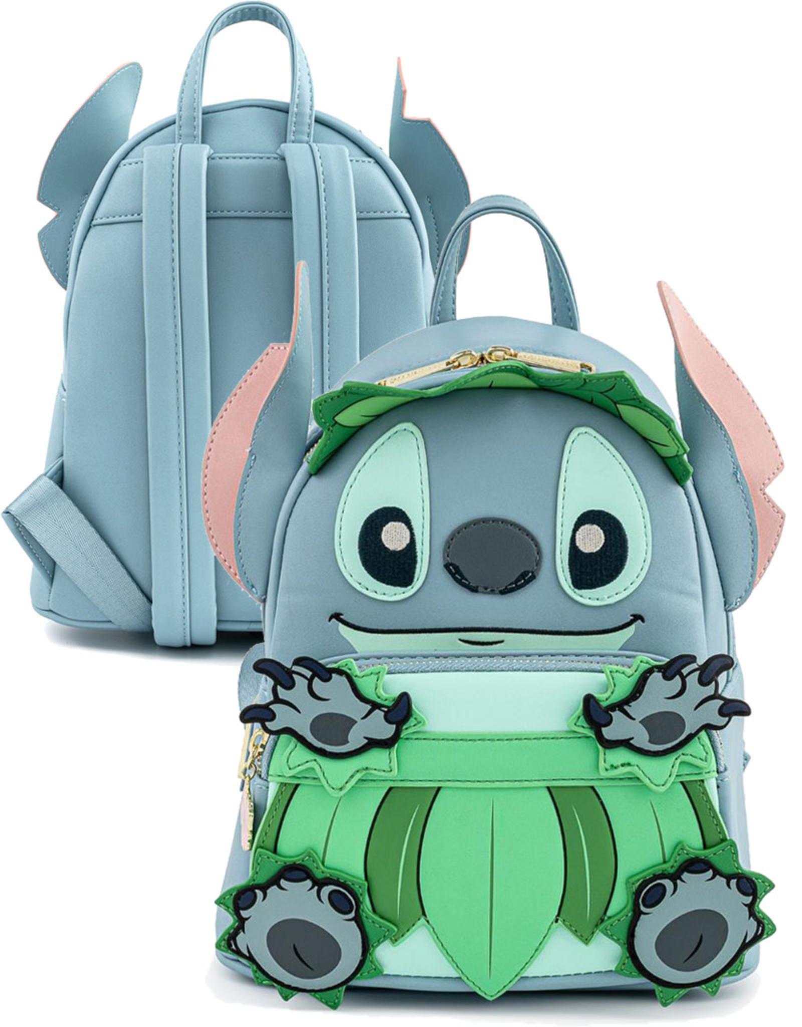 Disney (  Loungefly Mini Backpack )  Stitch Luau