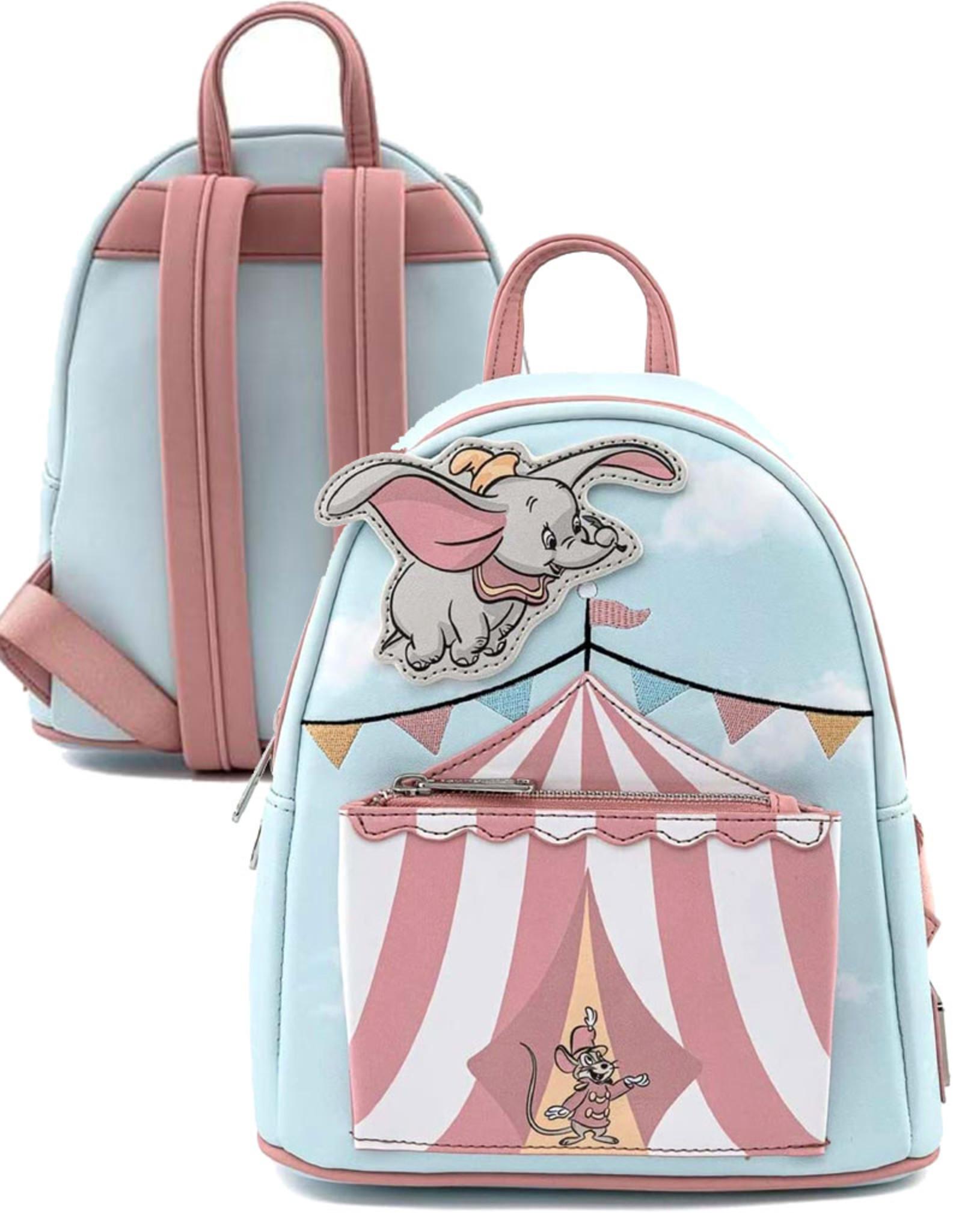 Disney ( Loungefly Mini Backpack )  Flying Dumbo