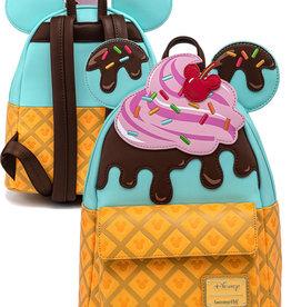 Disney ( Loungefly Mini Backpack ) Mickey SWEET TREATS