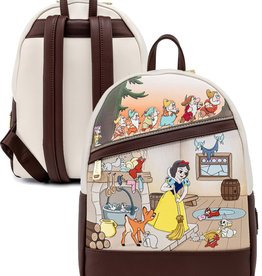 Disney ( Mini Sac à Dos Loungefly ) Blanche-Neige et Les Sept Nains