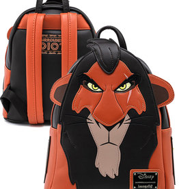 Disney ( Loungefly Mini Backpack ) THE LION KING SCAR