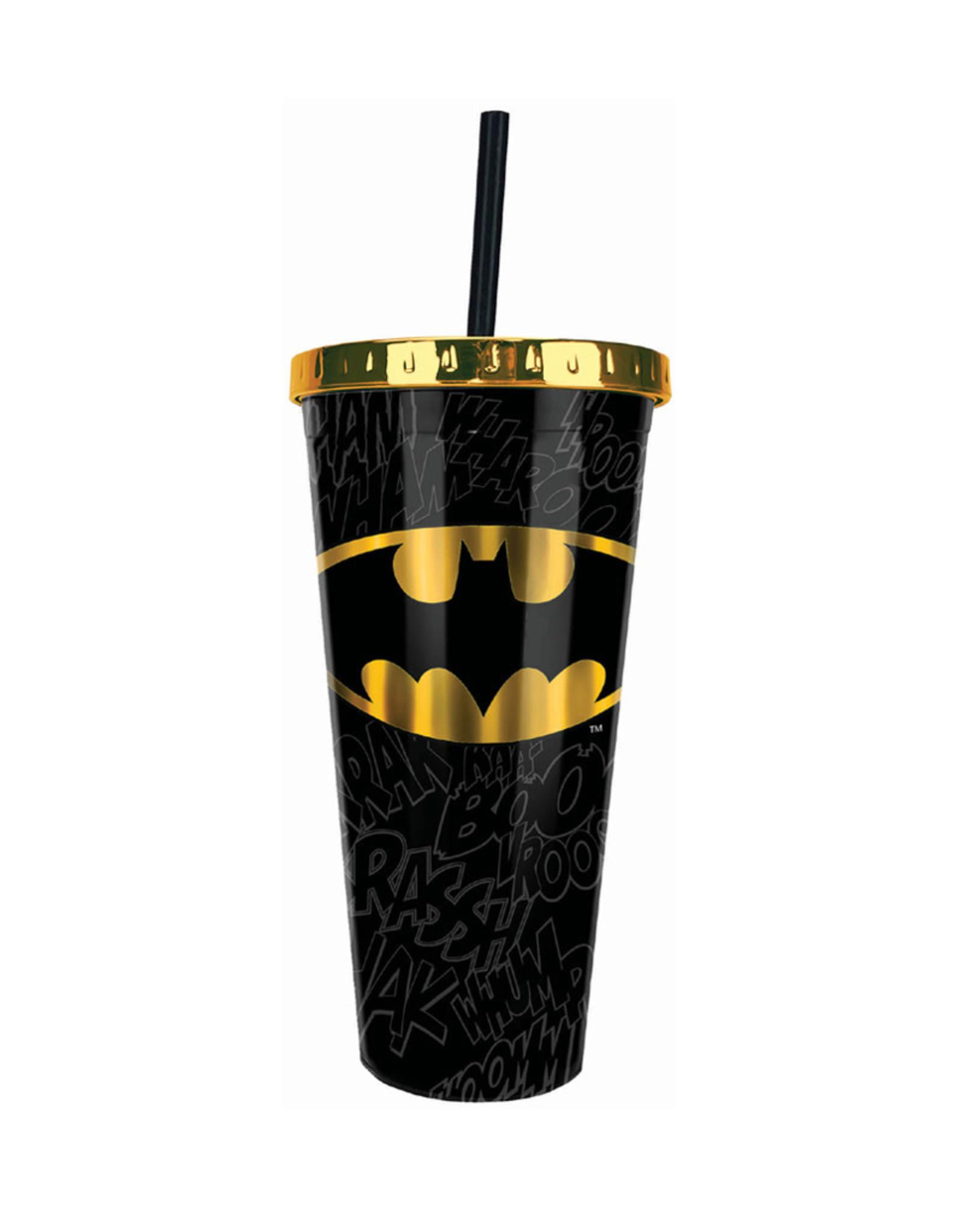 Harry Potter Dc Comics ( Acrylic Glass with Straw ) Batman
