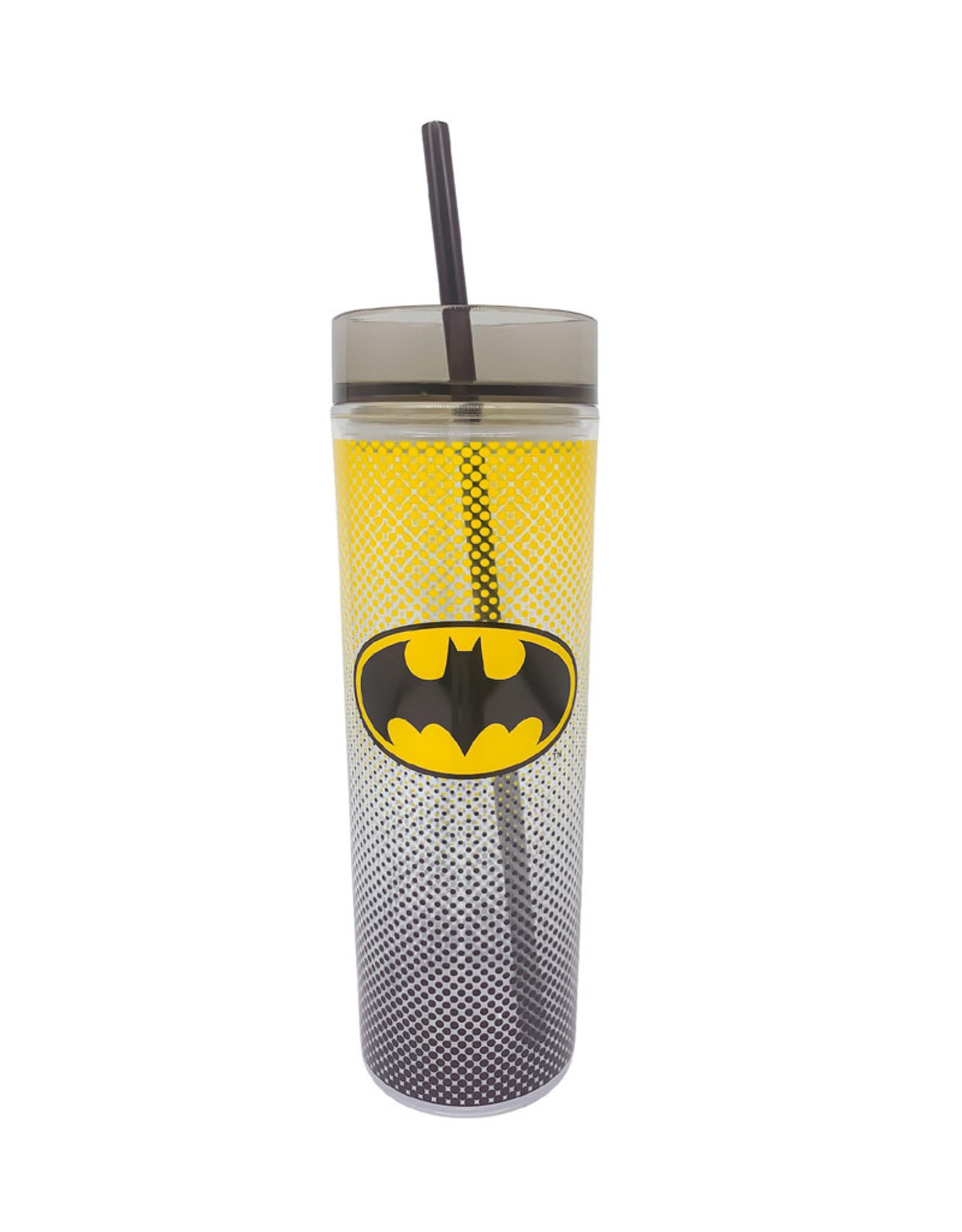 Dc Comics ( Acrylic Bottle with Straw ) Batman