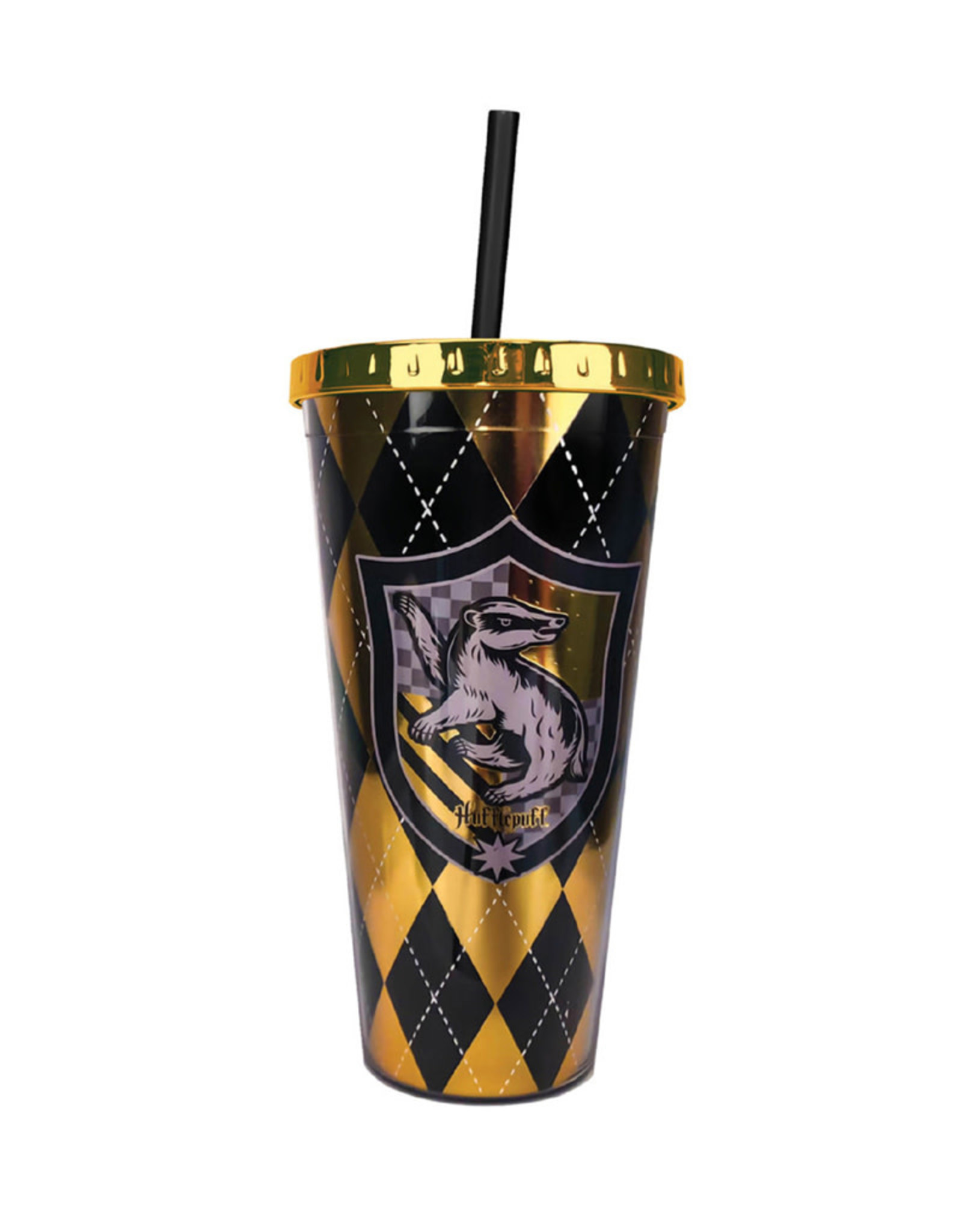 Harry Potter Harry Potter ( Acrylic Glass with Straw ) Hufflepuff