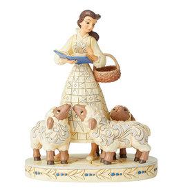 Disney Disney ( Figurine Disney Traditions ) Belle avec Moutons