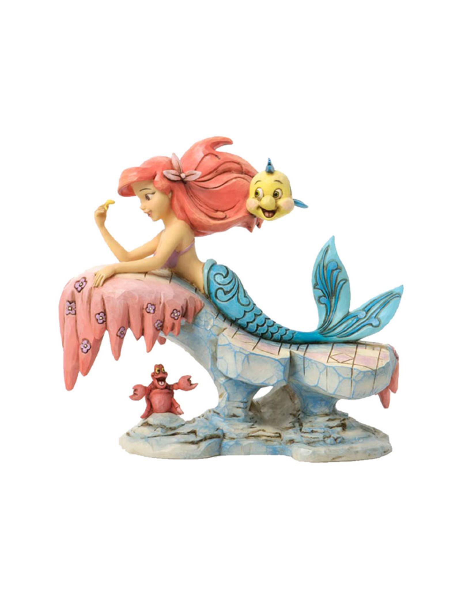 Disney Disney ( Disney Traditions Figurine )  Ariel & Friends