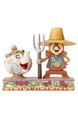 Disney Disney ( Disney Traditions Figurine ) Mrs. Potts & Cogsworth