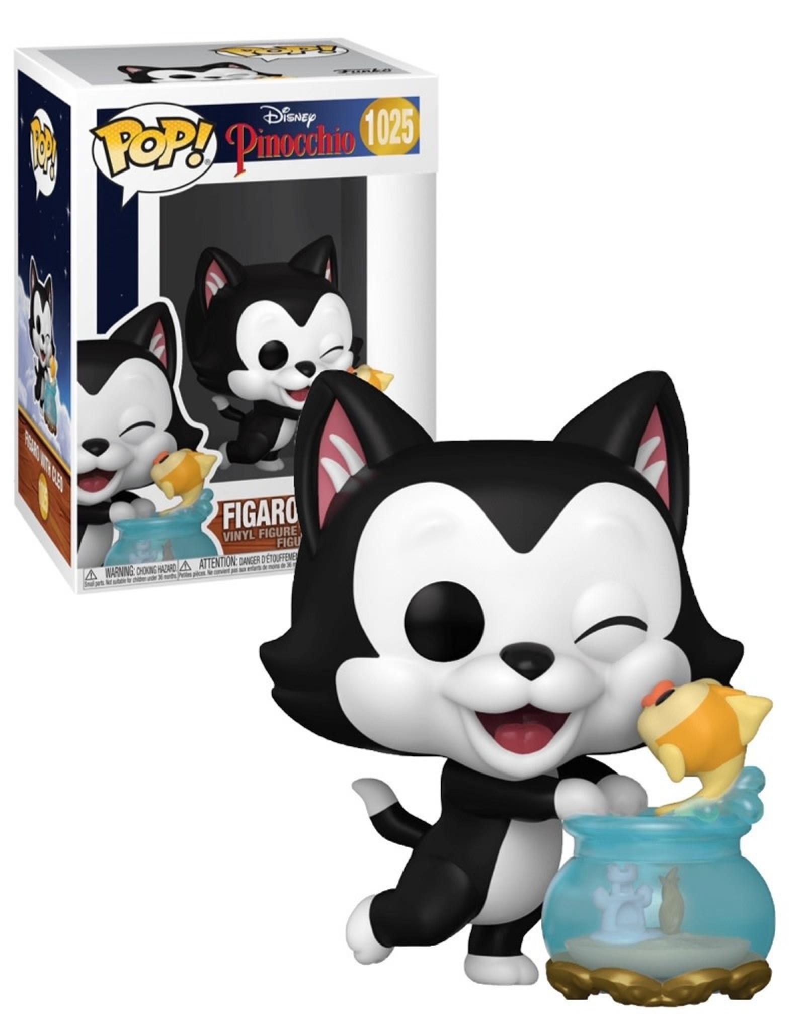 Disney 1025 ( Funko Pop ) Figaro With Cleo