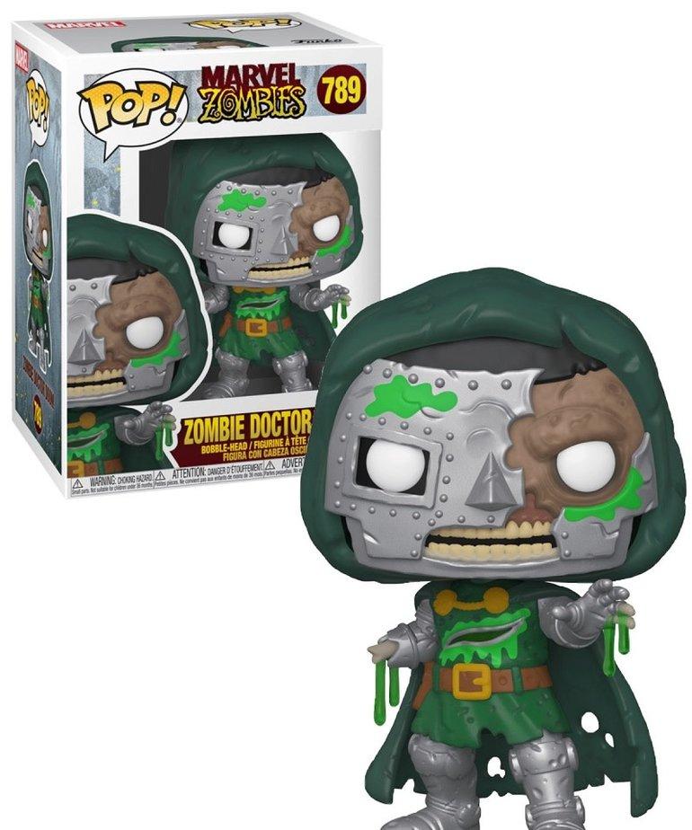Marvel 789 (  Funko Pop ) Zombie  Doctor Doom