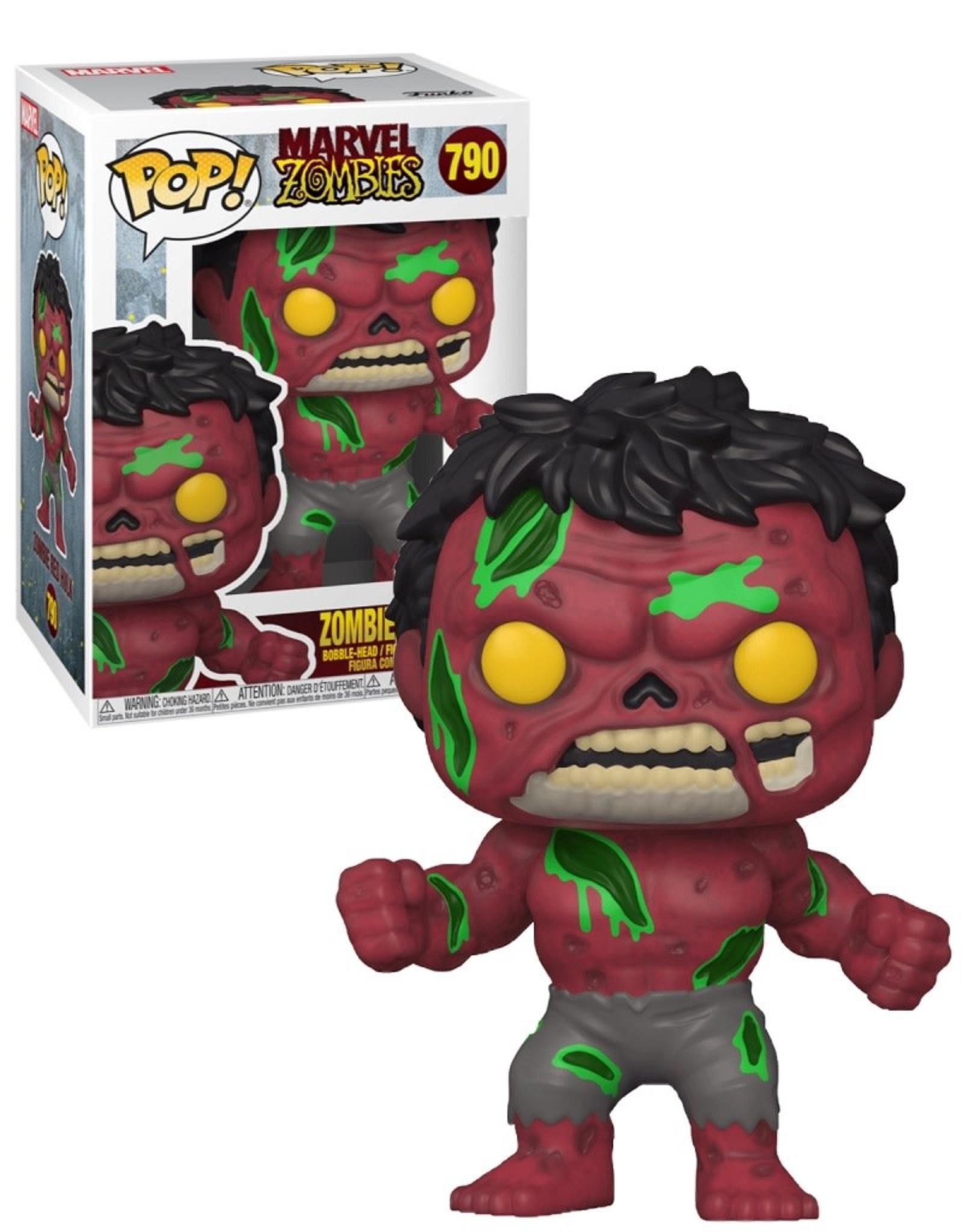 Marvel 790 ( Funko Pop ) Zombie Red Hulk