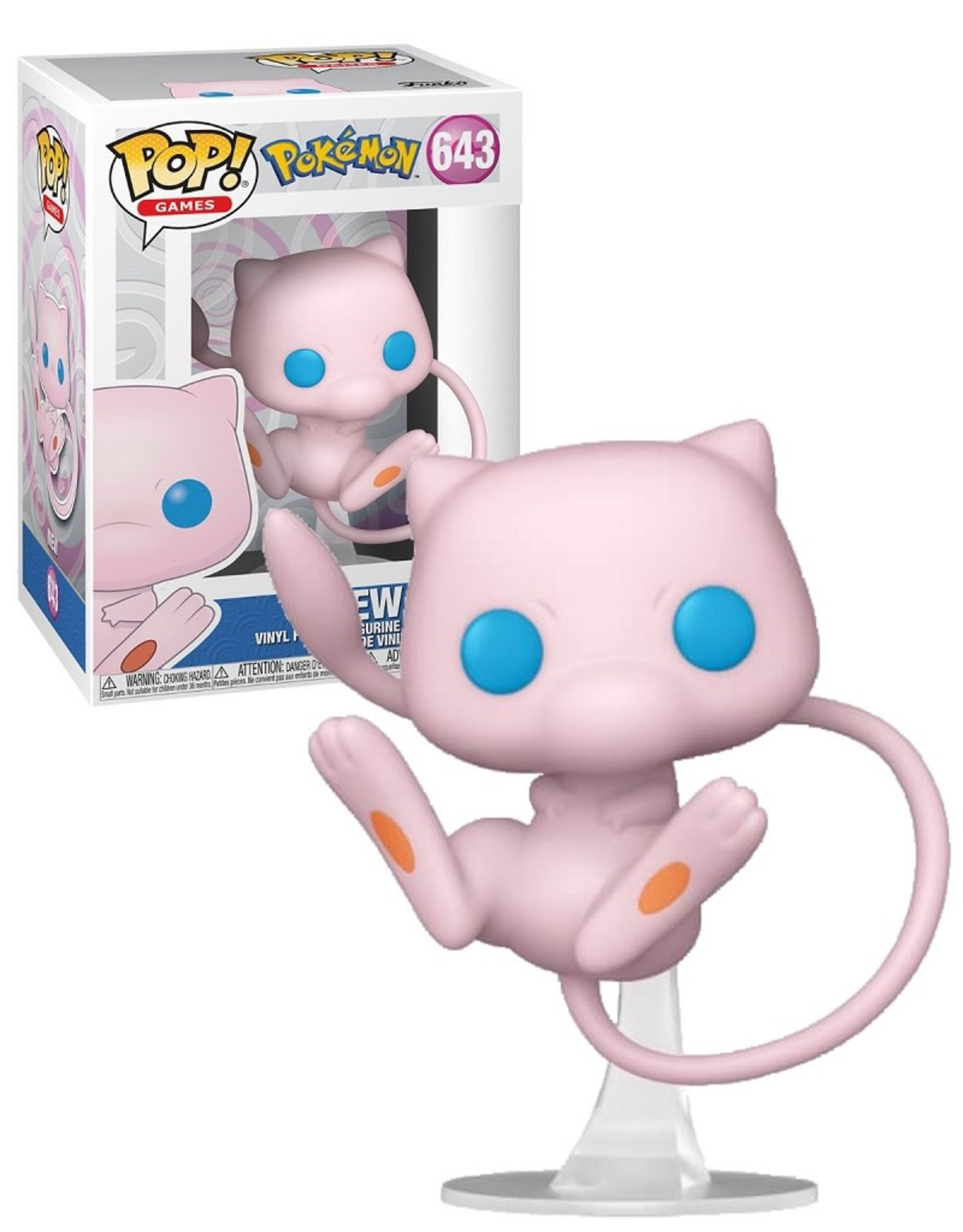 Pokémon 643 ( Funko Pop ) Mew