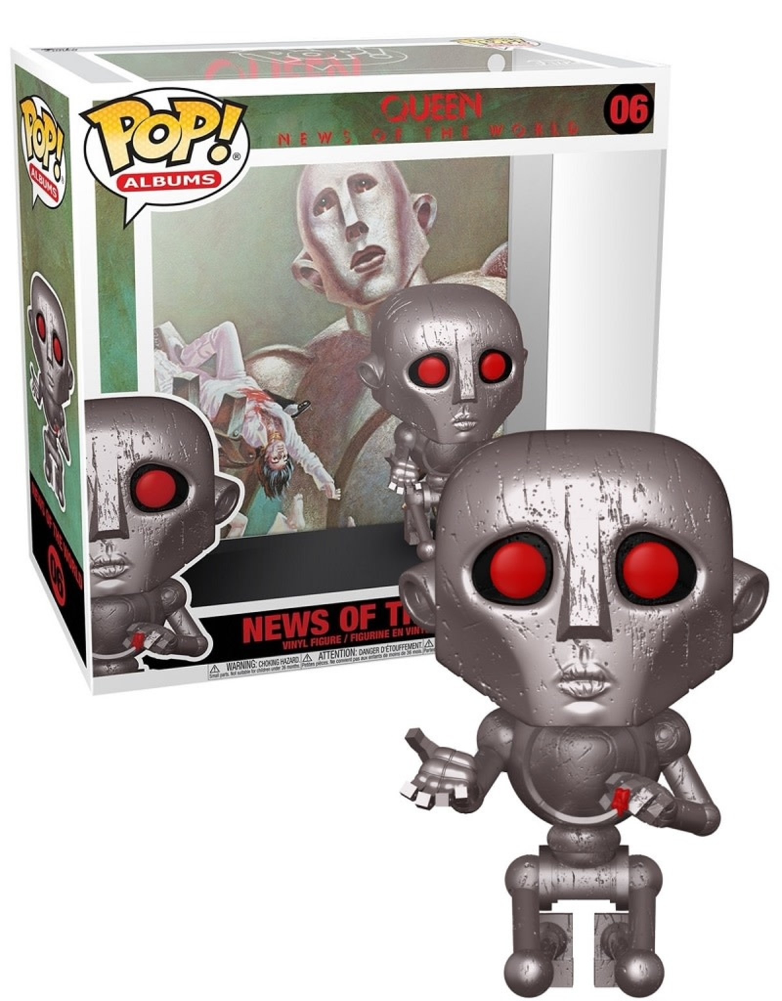 Queen 06 ( Funko Pop ) News of the world