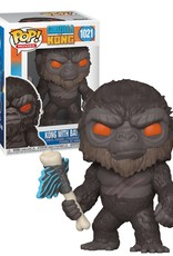 Godzilla Vs Kong 1021 (  Funko Pop )  Kong With Battle Axe